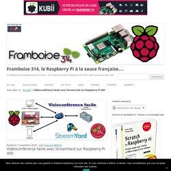 Vidéoconférence facile avec StreamYard sur Raspberry Pi 400