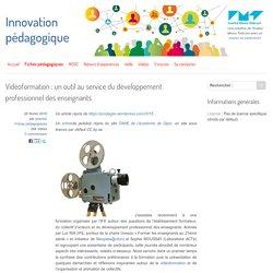 Vidéoformation : un outil au service du développement professionnel des enseignants