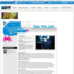 Videogame Jobs Guide - Take This Job - June 2006