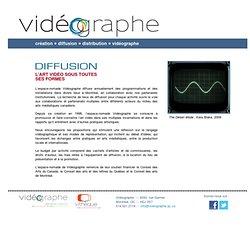 Vidéographe - Diffusion