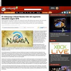 El videojuego infantil Naraba líder del segmento educativo