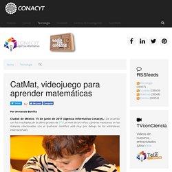 CatMat, videojuego para aprender matemáticas