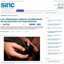 Los videojuegos mejoran el tratamiento de las personas con esquizofrenia