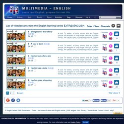 Extr@ – Learn English with videos