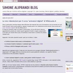 """SIMONE ALIPRANDI BLOG: Le mie videolezioni per il corso """"animatori digitali"""" di Wikiscuola.it"""