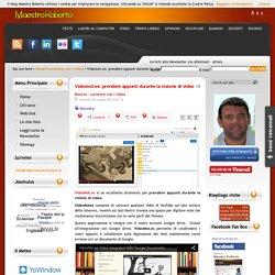 Videonot.es: prendere appunti durante la visione di video