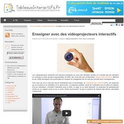 Pédagogie numérique : le vidéoprojecteur interactif