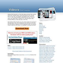 iPod Converter - Free iPod Video Converter