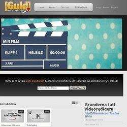 Videoklipp: Grunderna i att videoredigera - Arbetsgång - moderskeppet.se