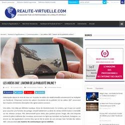 Les vidéos 360°, l'avenir de publicité online ?