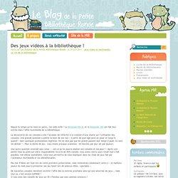 Le Petit Blog Rond - Le blog des Enfants de la Petite Bibliothèque Ronde