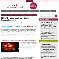 TED : 12 vidéos à voir sur l'égalité femmes/hommes