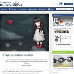 9 vídeos para educar en emociones - La Mente Es Maravillosa