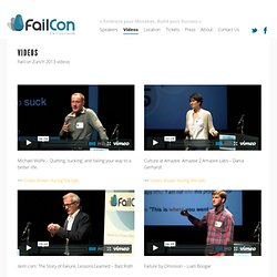 Videos | FAILCON Switzerland