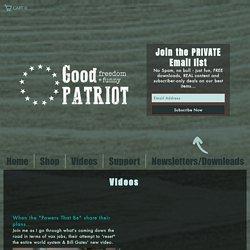 Good Patriot funny gun videos and more