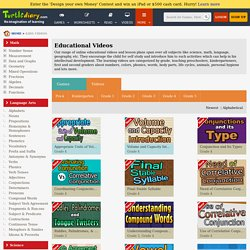 Free Online Educational Videos For Kids
