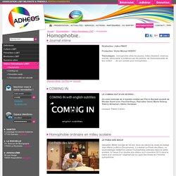 Vidéos lutte contre l'homophobie