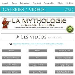 Vidéos de mythologie grecque NN CM2