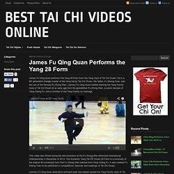 James Fu Qing Quan Performs the Yang 28 Form