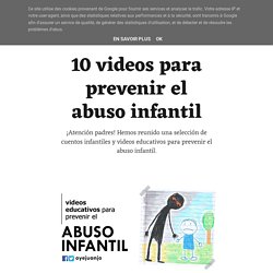 10 videos para prevenir el abuso infantil