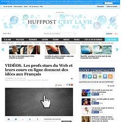VIDÉOS. Les profs stars du Web et leurs cours en ligne donnent des idées aux Français