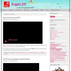 Projets ENT - Le blog de la génération ENT