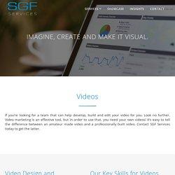 Videos - SGF Services