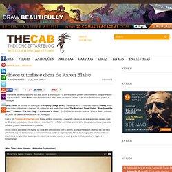 Videos tutorias e dicas de Aaron Blaise