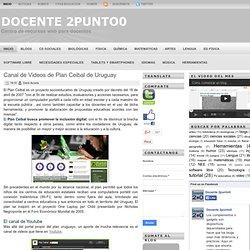 Canal de Videos de Plan Ceibal de Uruguay