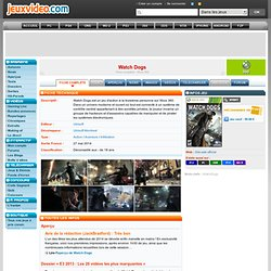 Watch Dogs - 360 - Xbox 360
