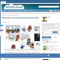 VideoScribe, crea online presentaciones estilo dibujo