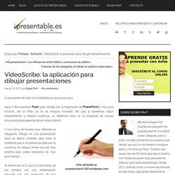 VideoScribe - Cómo dibujar presentaciones