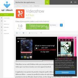 Videoshow 6.7.5 cn pour Android - Télécharger