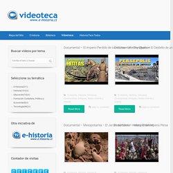 Videoteca E-Historia – Repositorio de videos de E-historia