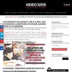 Videotelling : la méthode de Céline Alvarez pour le e-learning ?