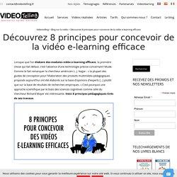 Videotelling : 8 principes pour concevoir des vidéos e-learning efficaces