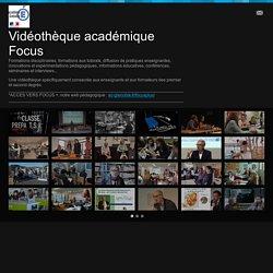 Vidéothèque académique Focus on Vimeo