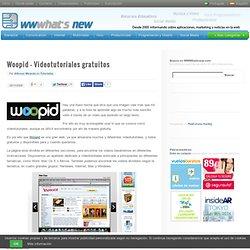 Woopid – Videotutoriales gratuitos