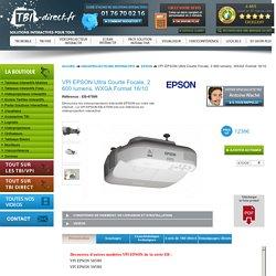 Vidéprojecteurs Interactifs (VPI) marque EPSON