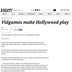 Vidgames make Hollywood play - Entertainment News, Technology Ne