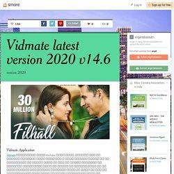 Vidmate latest version 2020 v14.6