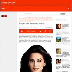 Vidya Balan Hot Scene Pictures
