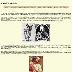 Vie d'Euclide ~ Qui était Euclide?