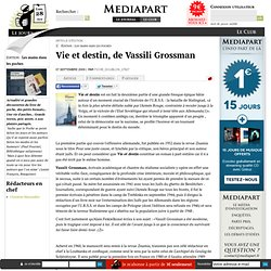 Vie et destin, de Vassili Grossman