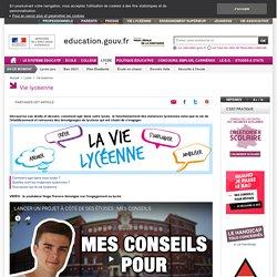 Site national sur la vie lycéenne