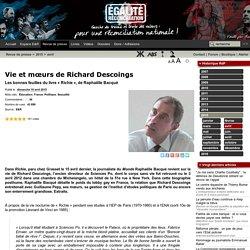 Vie et mœurs de Richard Descoings