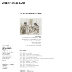 Vie de Pablo Picasso