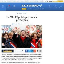 La VIe République en six principes