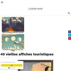 40 vieilles affiches touristiques