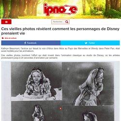 Ces vieilles photos révèlent comment les personnages de Disney prenaient vie